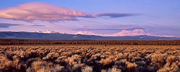 Three Sisters Sunrise, near Sisters, Oregon