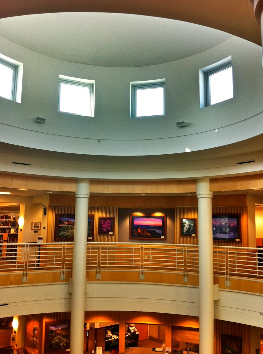 COCC Library Rotunda