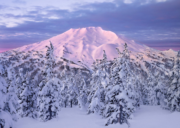 Mt. Bachelor Greeting Card