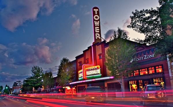 Tower Theatre and Footzone, Bend, Oregon