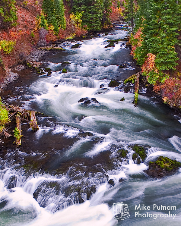 Deschutes River in Bend, Oregon