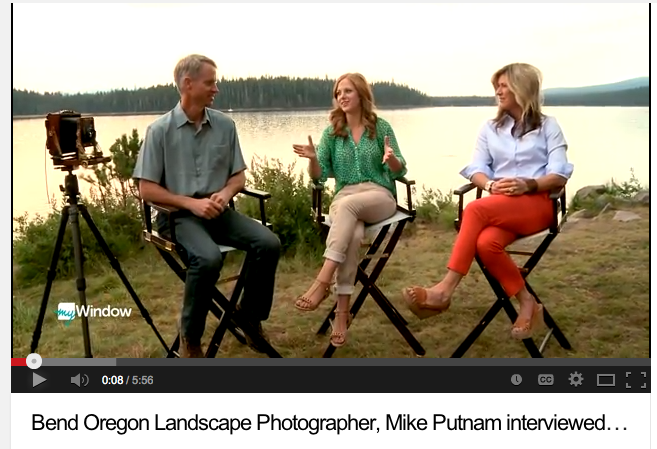 Interview with Bend Oregon Photographer, Mike Putnam