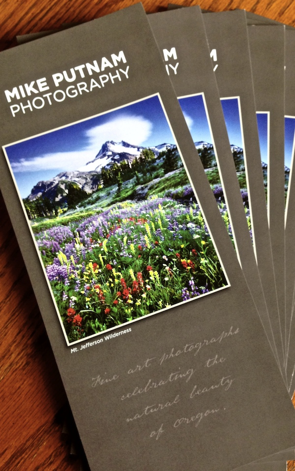 Oregon Landscape Photography Brochure