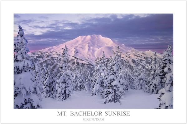 Mt. Bachelor Poster