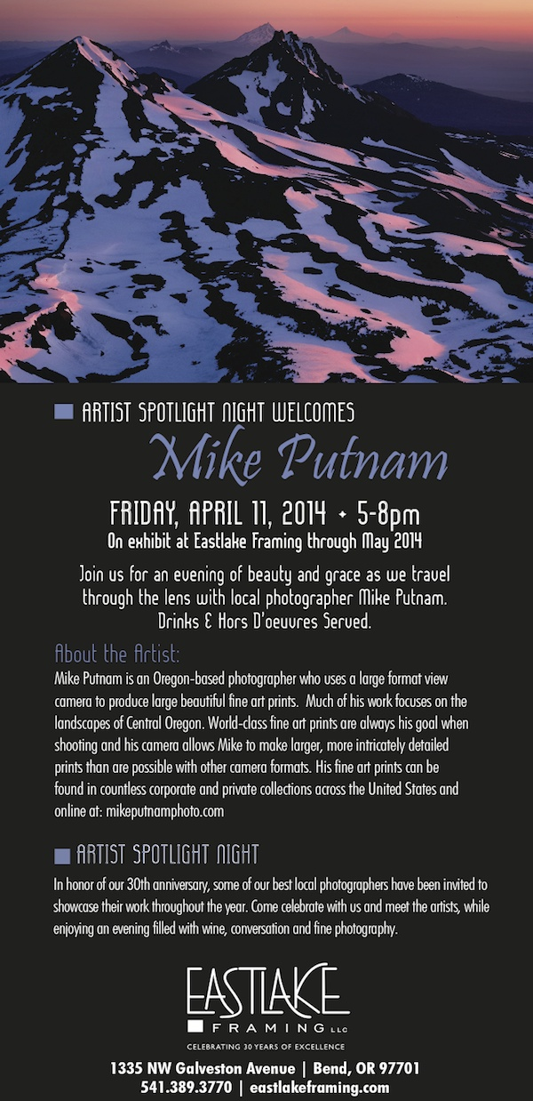 Artist Spotlight at Eastlake Framing