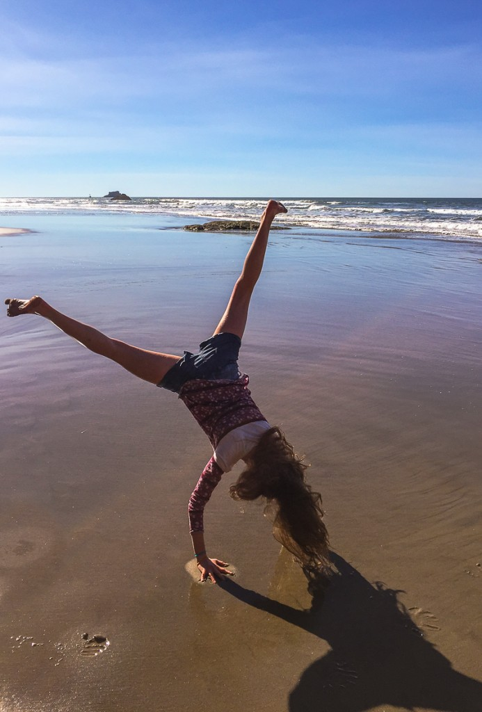 Canon Beach Cartwheel