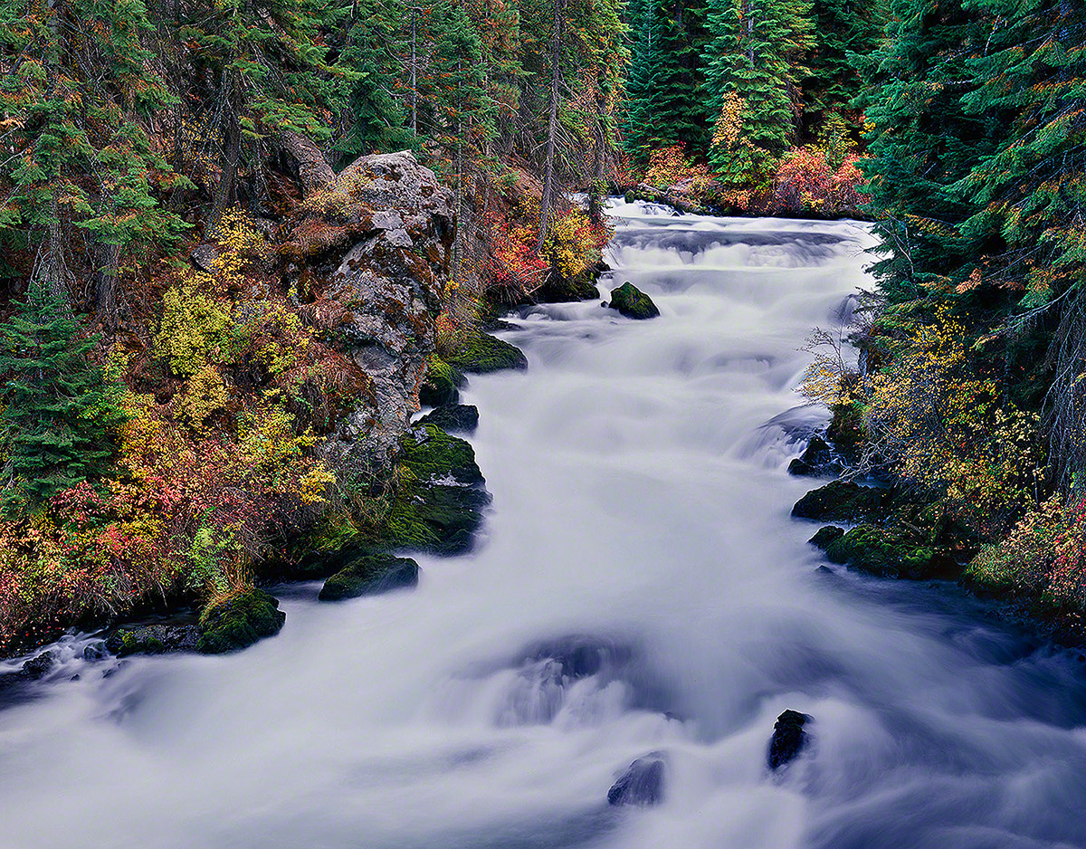 benham falls,deschutes river,bend oregon,autumn