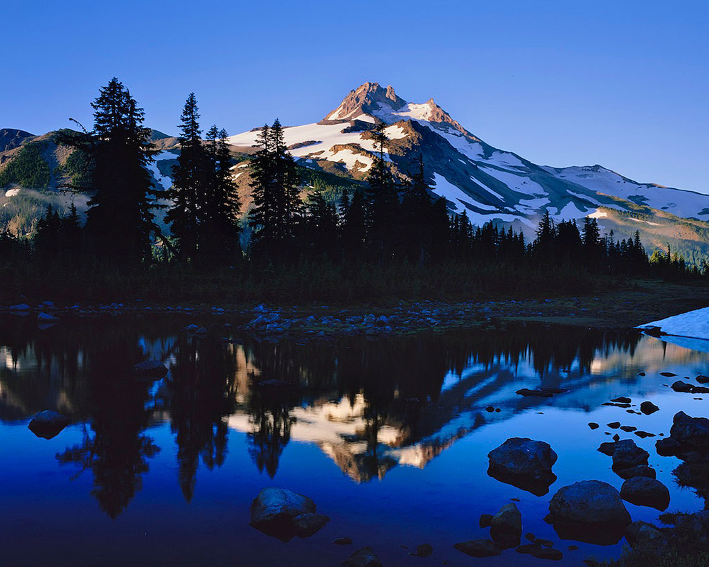 Mt- Jefferson Reflection