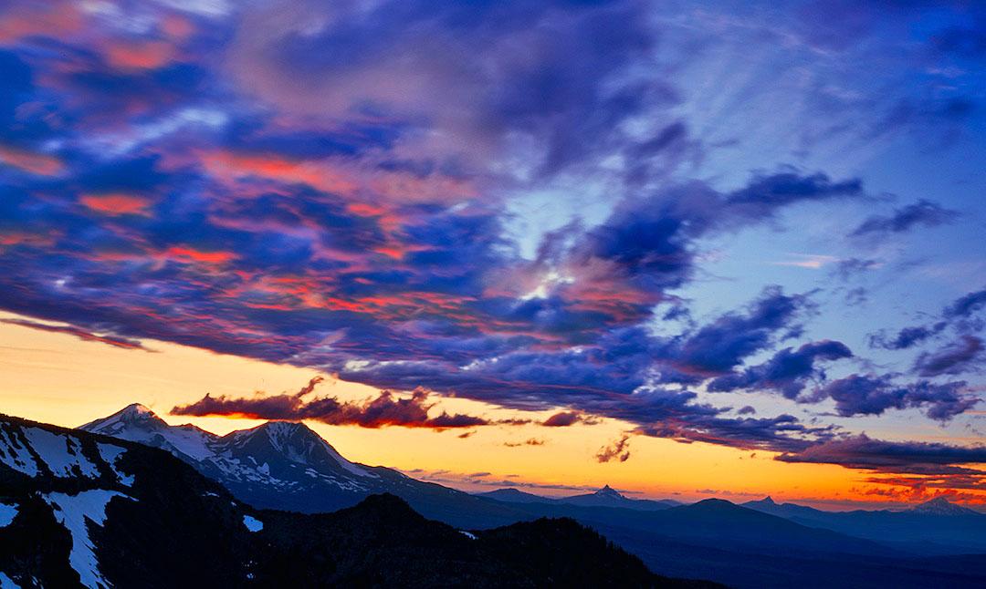 Tam McArthur Rim Sunset