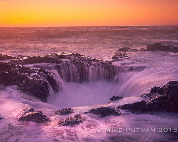 Thor's Well, Oregon Coast landscape photography, yachts oregon