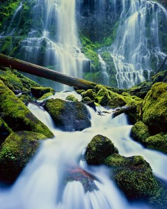 Proxy falls, Oregon waterfall
