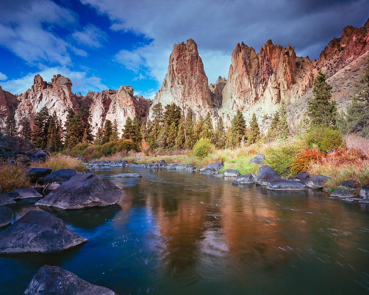 Smith Rock State Park,Crooked River