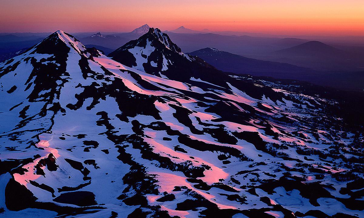 Three Sisters wilderness Area, summit sunrise