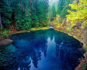 Tamolitch Pool, Blue Pool, McKenzie River, Oregon