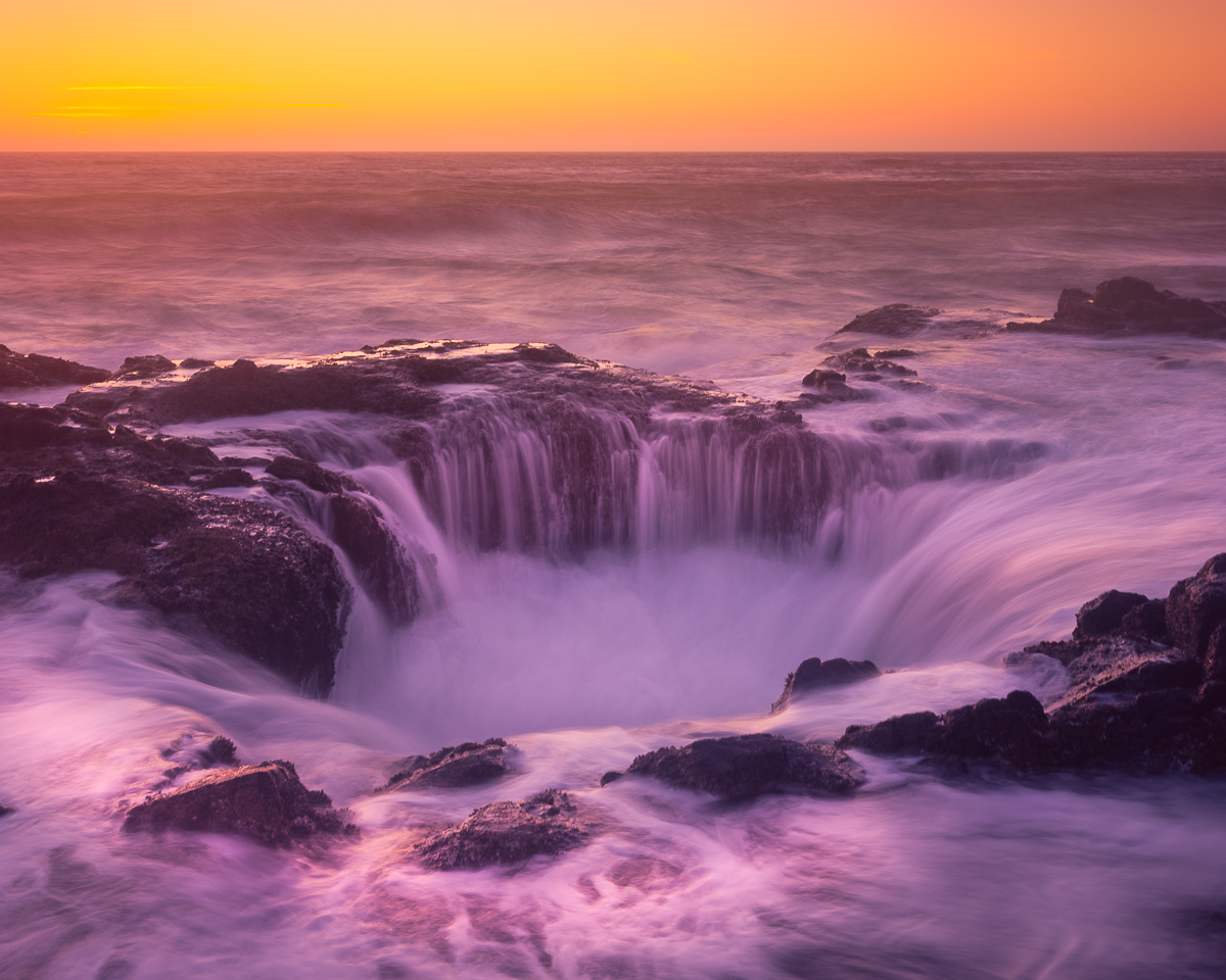 Thor's Well, Oregon Coast, Cape Perpetua, Yachats