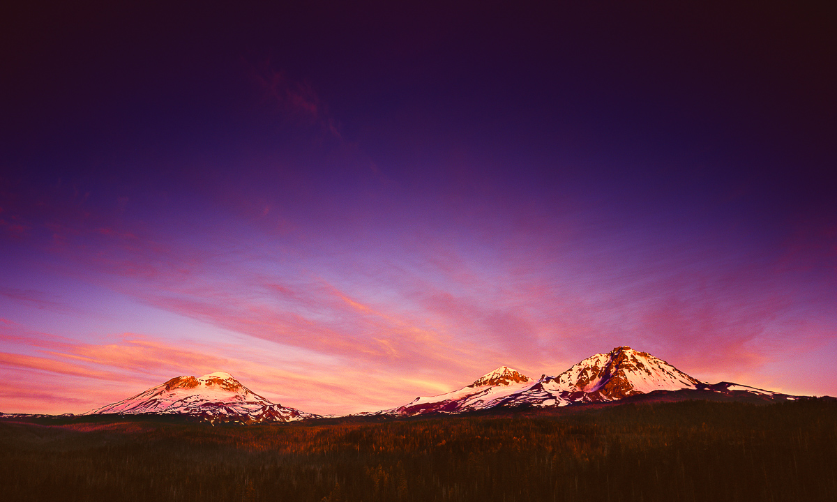 Morning Glory, Oregon's Three Sisters