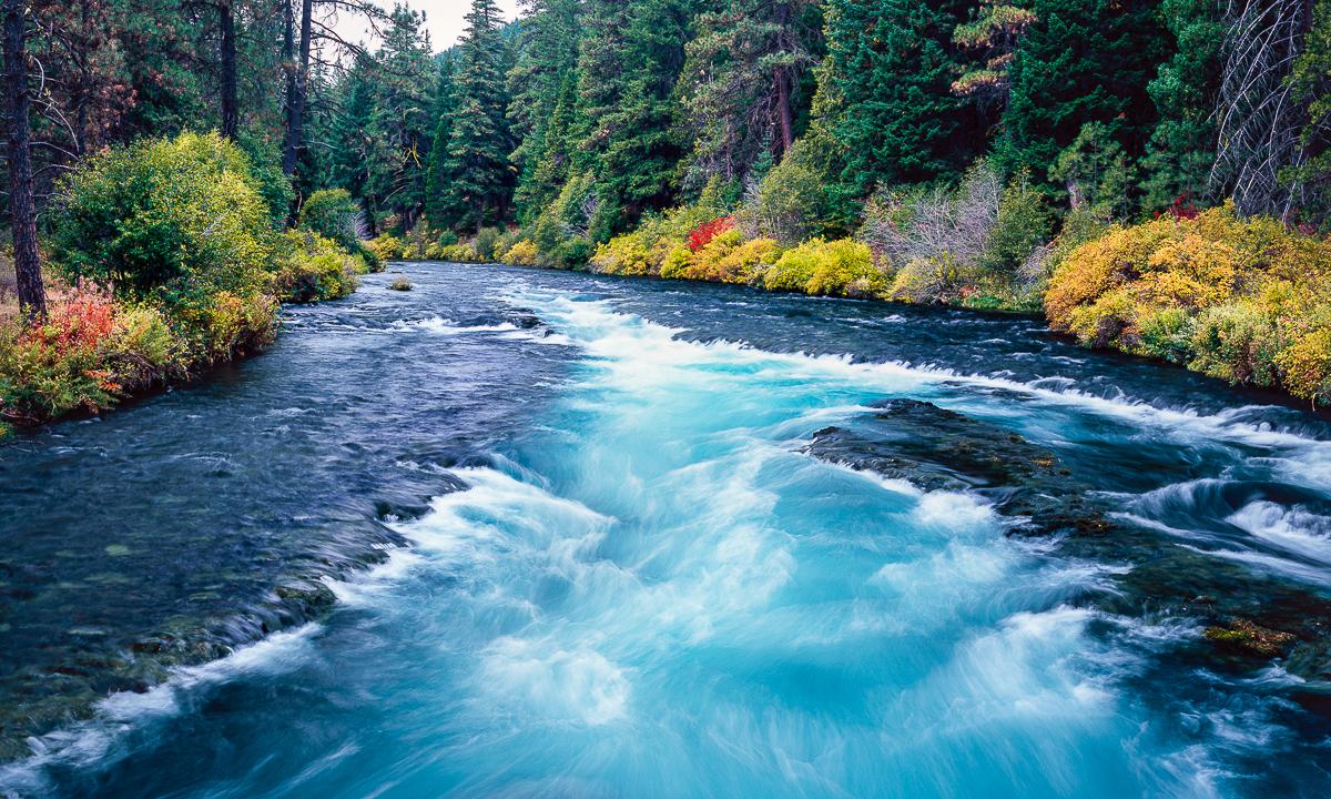 Wizard Falls, Metolius River