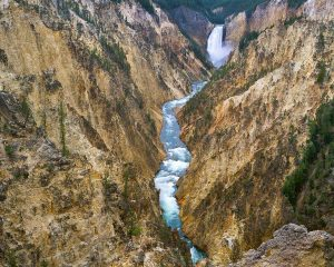 Yellowstone Falls, Yellowstone National Park, Grand Canton of the yellowstone