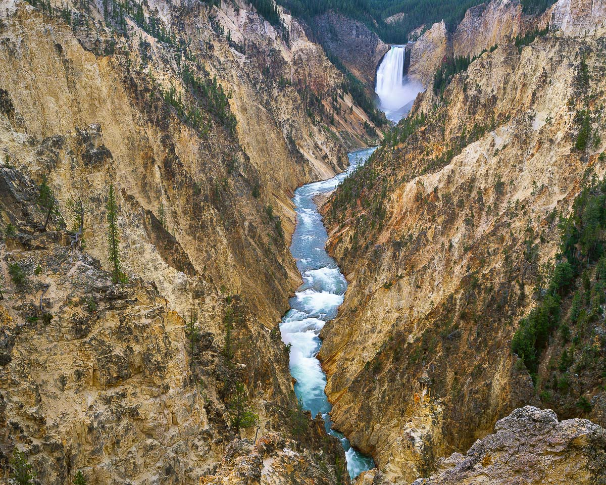 Yellowstone Falls, Yellowstone National Park, Grand Canton of the yellowstone