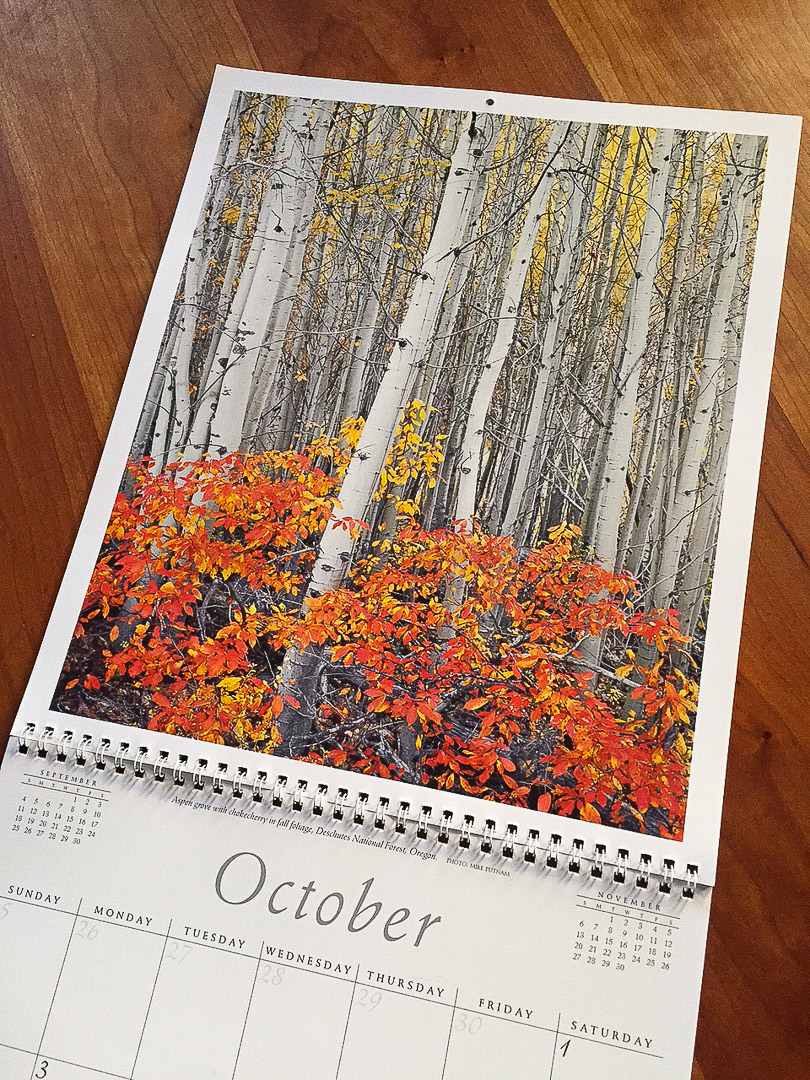Sierra Club Calendar October 2016!