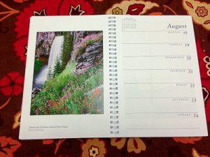 Tumalo Falls Sierra Club Calendar