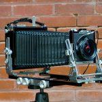 Ebony 4x5 large format film camera