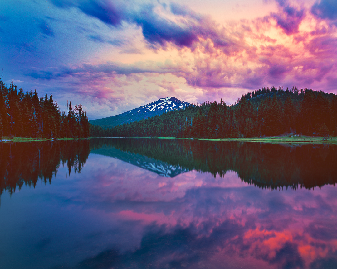 todd Lake mt bachelor oregon lakes
