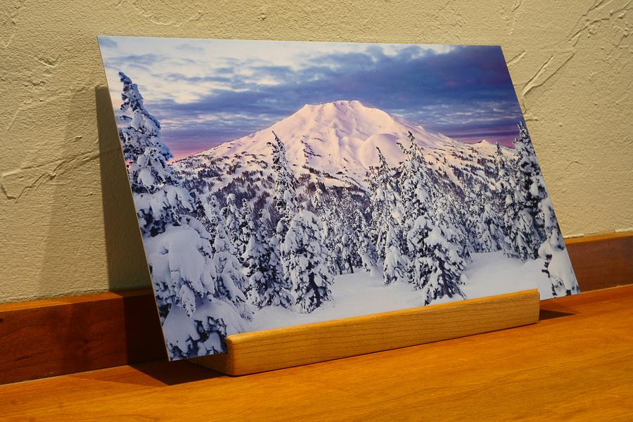 Mt. Bachelor desk top print, Bend Oregon gifts