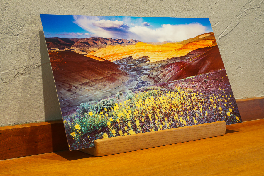 Oregon desk top prints, john day painted hills