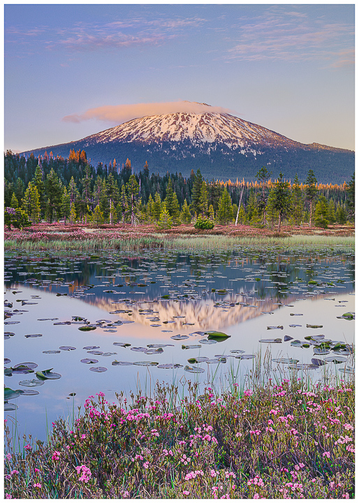 Mt. Bachelor, Hosmer Lake, greeting Cards, note cards