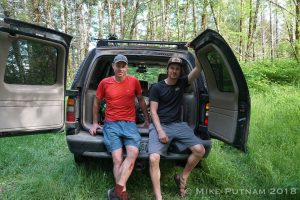 Mike Putnam, Josh Harned, Devil's Staircase Hike