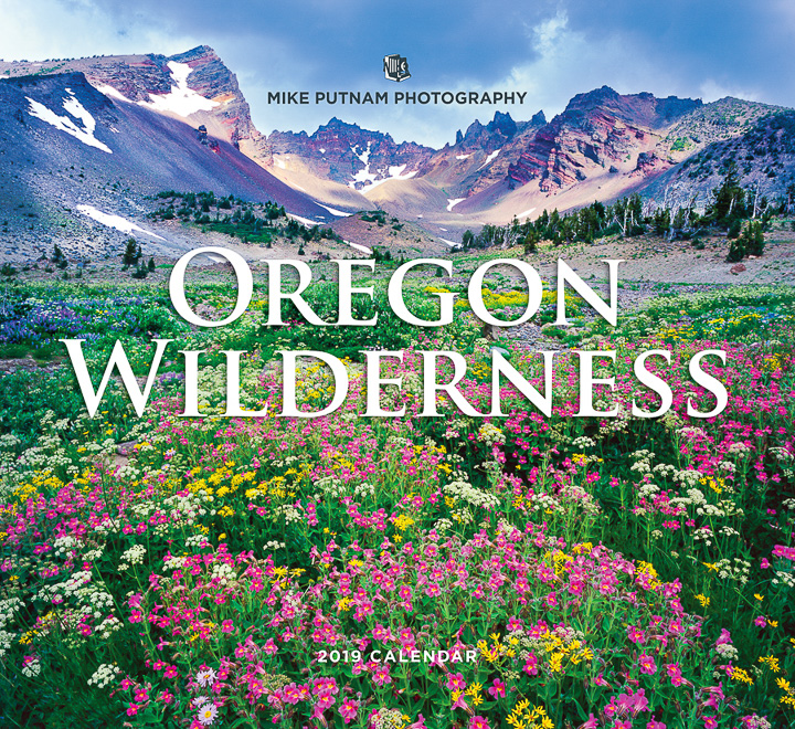 2019 Oregon Wilderness Calendar Front Cover