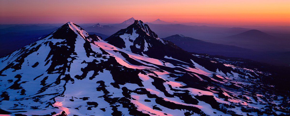 Summit Sunrise Panorama Fine Art Print