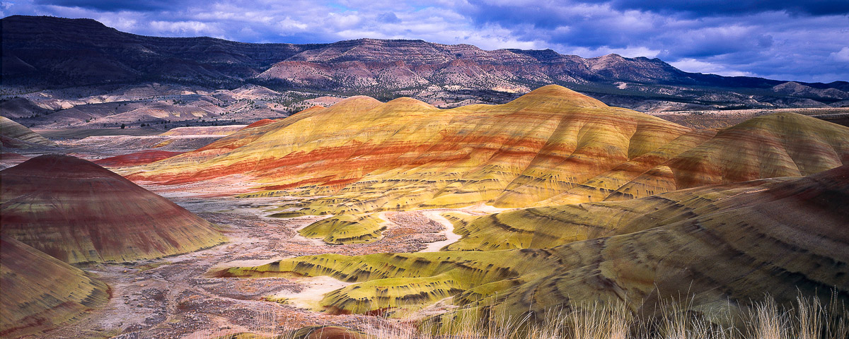 Painted Hills Panorama Fine Art Print, John Day Oregon