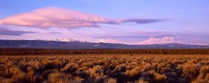 Three Sisters Sunrise Panorama Fine Art Print