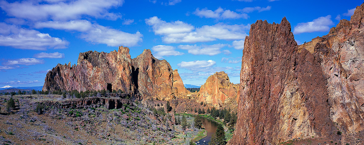 Smith Rock Panorama Fine Art Print