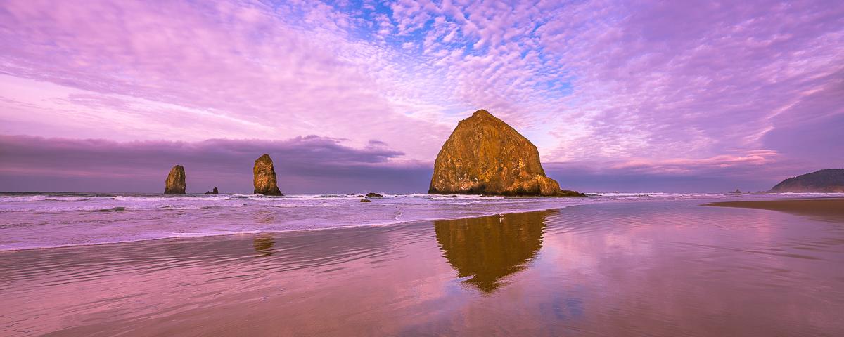 Cannon Beach Panorama Fine Art Print Oregon Coast photos