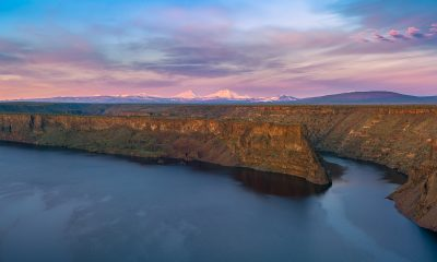 Lake Billy Chinook, Three Sisters, Oregon Lakes photo