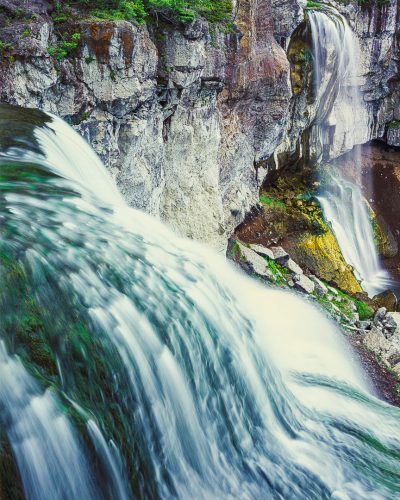 Paulina Falls fine art print,Newberry Crater,Oregon waterfall, fine art landscape photo
