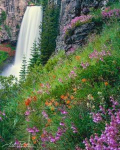 Tumalo Falls Bend Oregon,Waterfall,fine art print, photo,