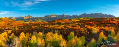 Sneffels Range Panorama,photograph,fine art print,colorado rockies