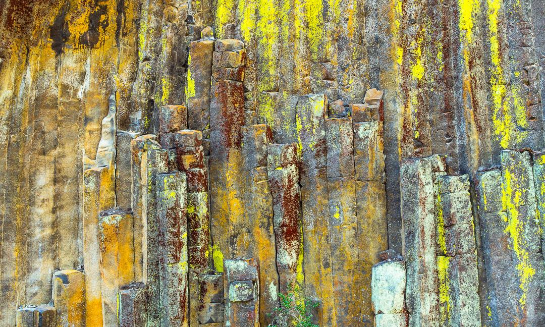 Basalt columns,Southern Oregon,North Umpqua River