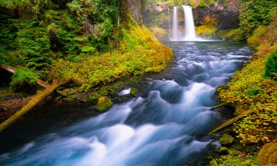 Koosah Falls photo,fine art print,photo for sale,framed river photo
