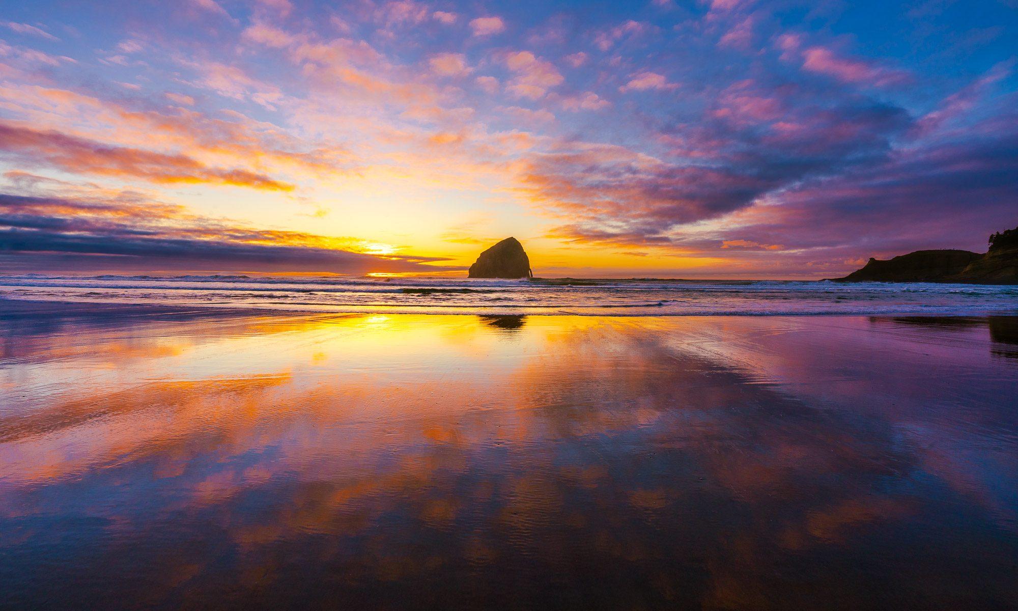 Pacific City Sunset