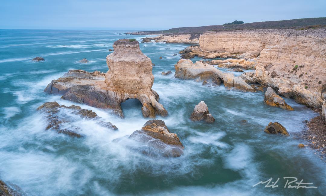Montaña De Oro State Park,Grotto Rock,landscape photograph,fine art print,fine are photo